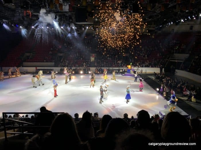 Disney On Ice Dare To Dream In Calgary Review