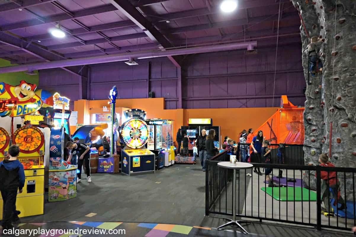 Shakers Fun Centre Winter Review Calgaryplaygroundreview Com