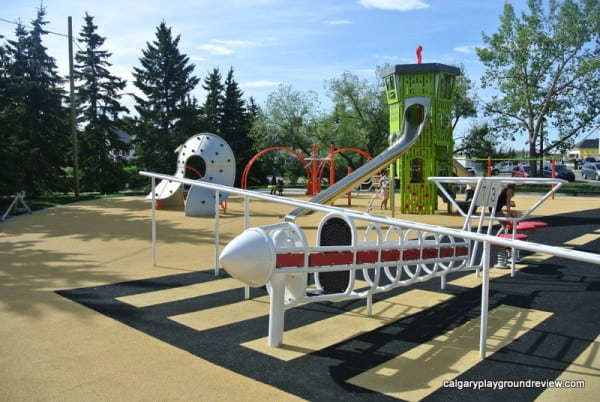 Currie Barracks Airport Playground - Calgary's best playgrounds 2019