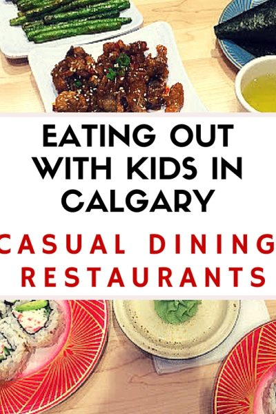 The best casual dining restaurants for families – eating out with kids in Calgary