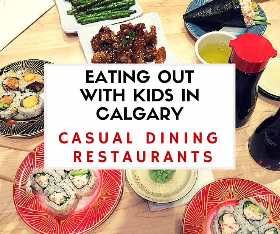 The Best Casual Dining Restaurants For Families Eating