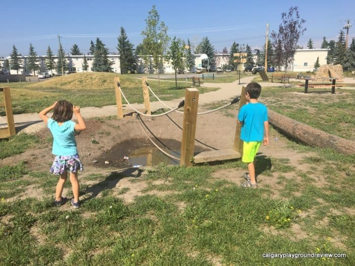 Forest Lawn Natural Playground