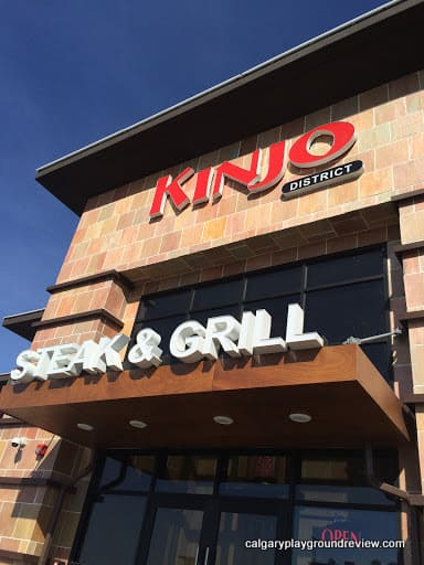 Kinjo Sushi and Grill – Eating Out With Kids in Calgary