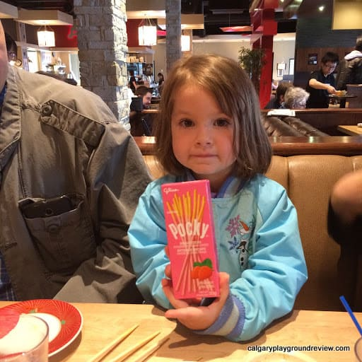 Kinjo Sushi and Grill - Eating Out with Kids in Calgary