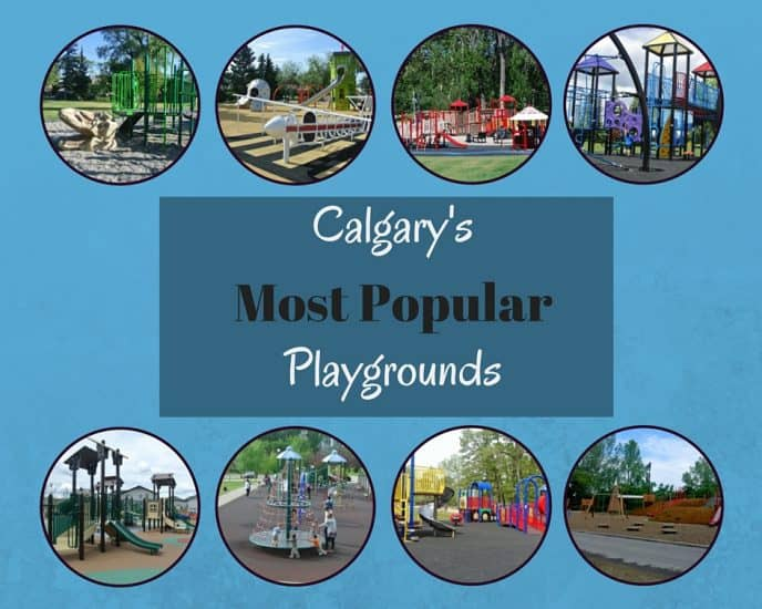 Calgary's top 15 Most Popular Playgrounds – 2016