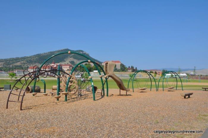Cenntennial Bausch Park Playground - Helena, MT