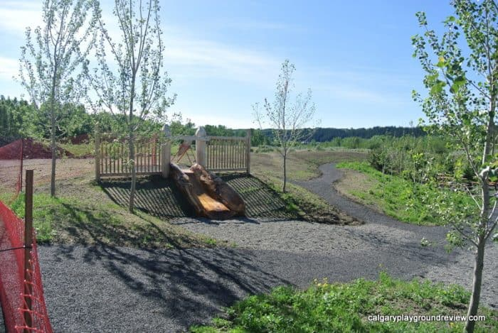 Riverfront Park Natural Playground - Cochrane
