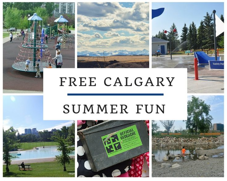 Free Things to do in Calgary with kids this Summer