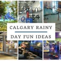 Calgary Rainy Day Fun Ideas