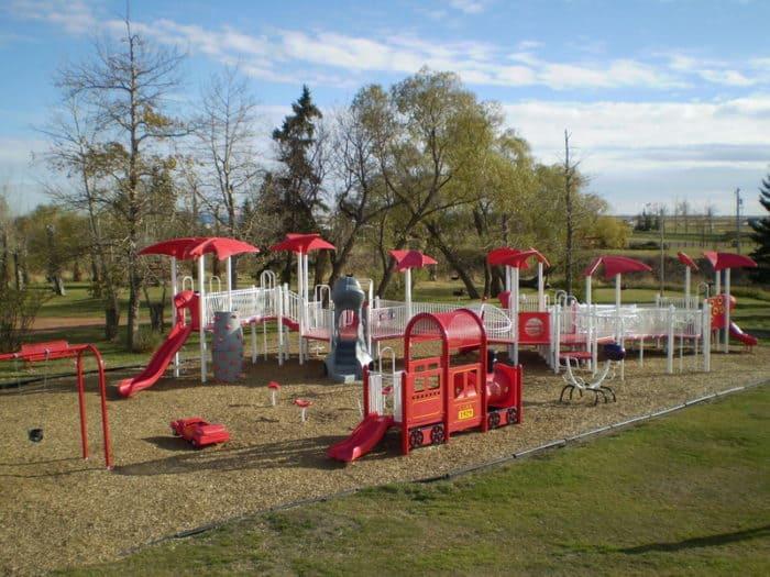 Elks/Kinsmen Park Playground - Vegreville