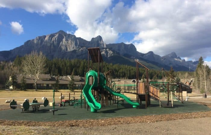 West Canmore Park playground