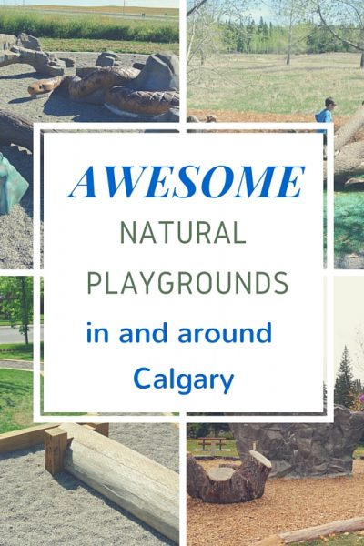 Natural Playgrounds in and around Calgary
