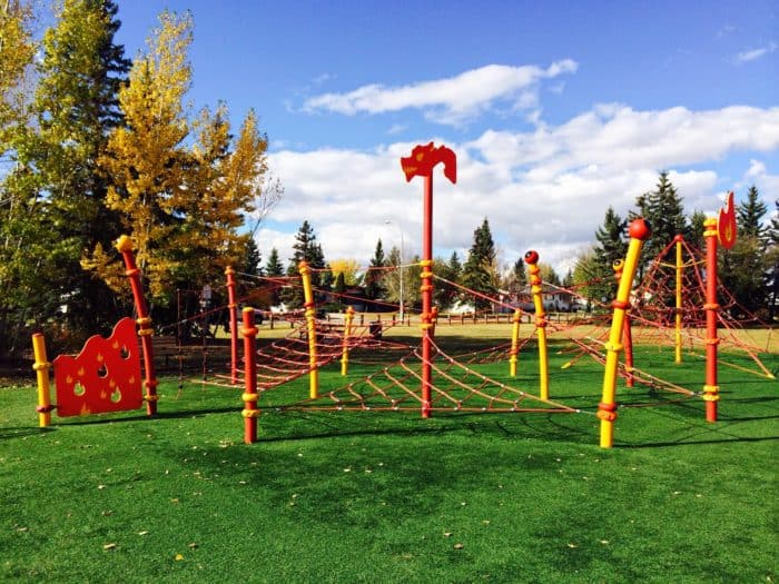Grande Prairie Avondale Playground