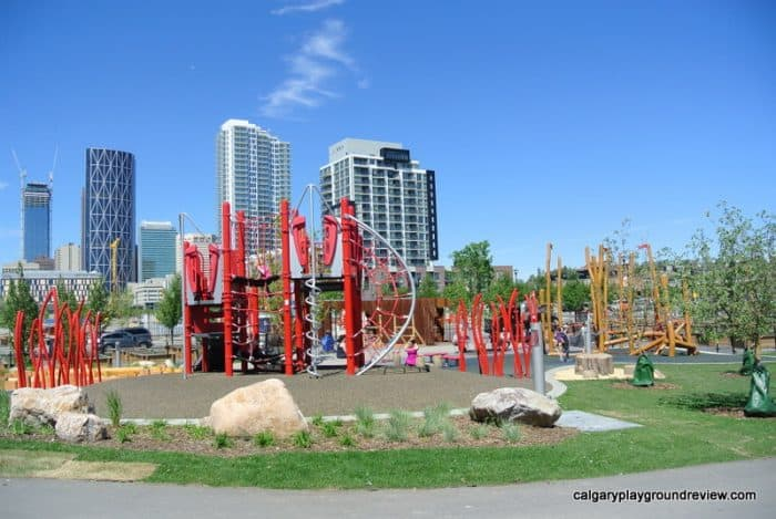 Calgary Staycation - East Village Playground
