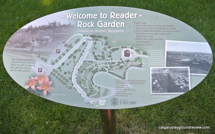 Reader Rock Garden Map
