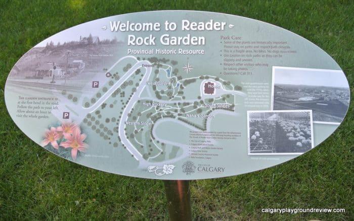 Reader Rock Garden Map