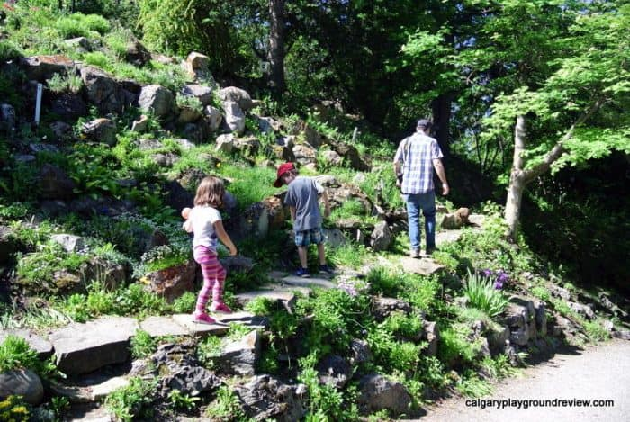 Calgary Staycation - Reader Rock Garden