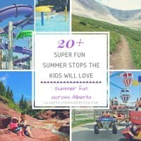 Fun Summer Stops in Alberta
