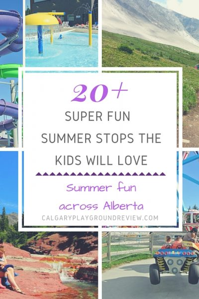 Super Fun Places to Go with the Kids in Alberta This Summer