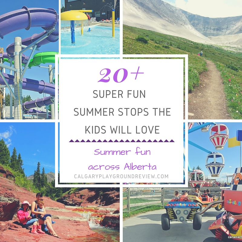 Super Fun Places To Go With The Kids In Alberta This
