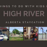 Things to do with kids in High River