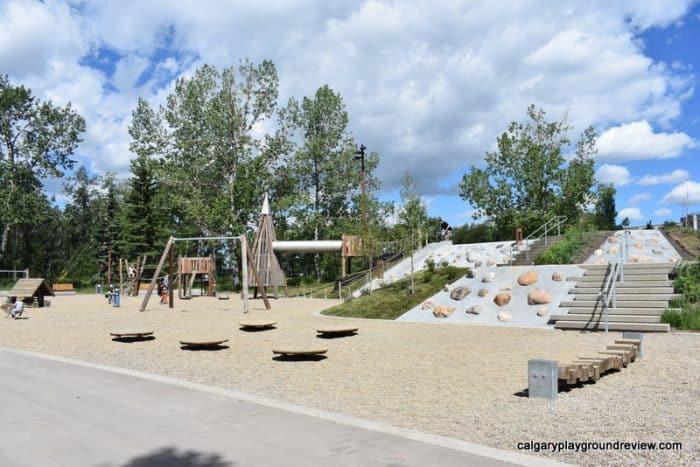 St. Patrick's Island Playground - Calgary's best playgrounds 2019