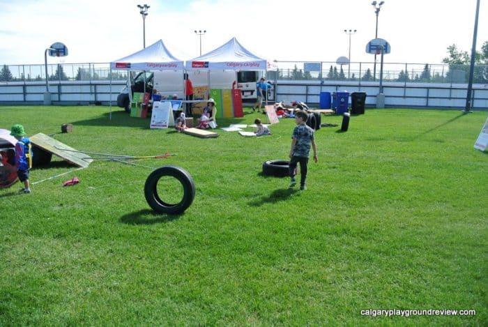 Calgary's Mobile Adventure Playground