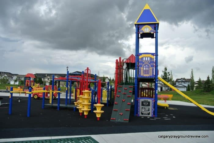 Eaux Claires Playground- Awesome Edmonton Playgrounds - North of the River