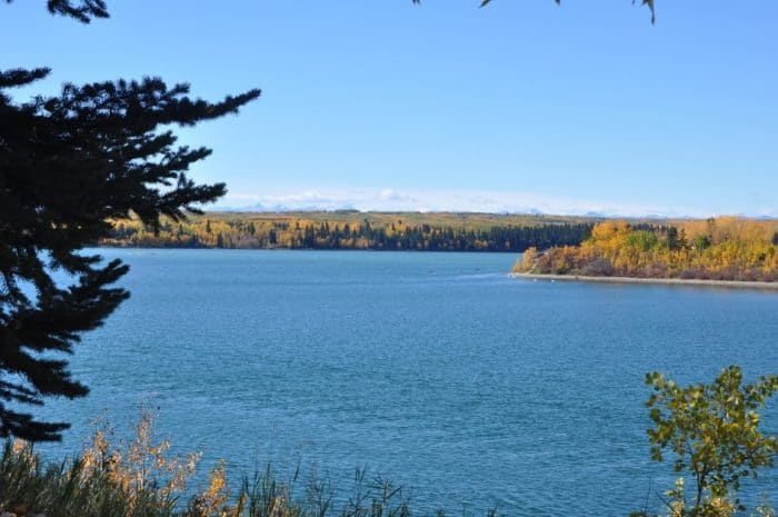 Glenmore Reservior in the Fall