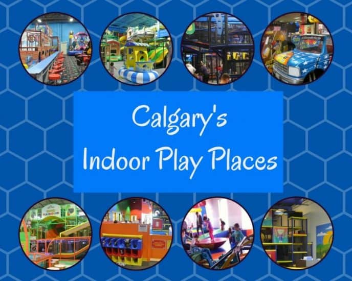 Calgary Indoor Play Places - Things to do with kids in Calgary in the Winter