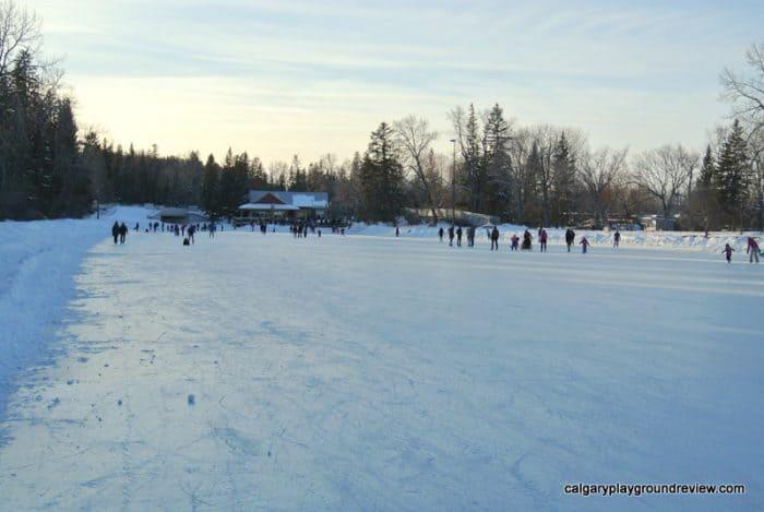 Bowness Park Skating RInk