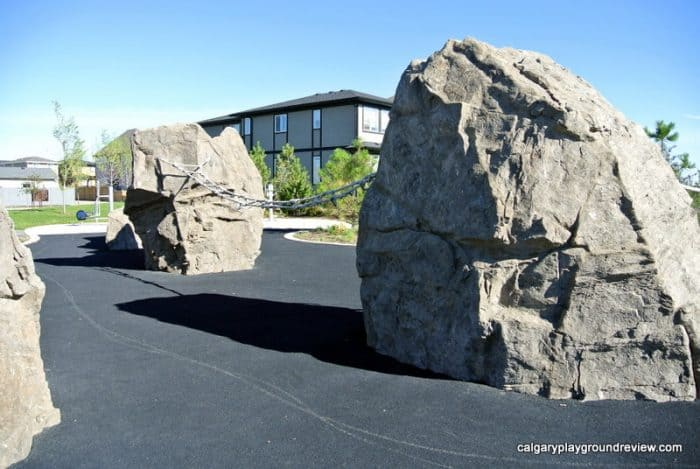 Mahogany Giant Rock Playground