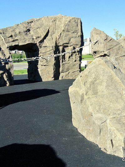 Mahogany Giant Rocks Playground