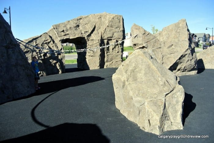 Mahogany Giant Rocks Playground