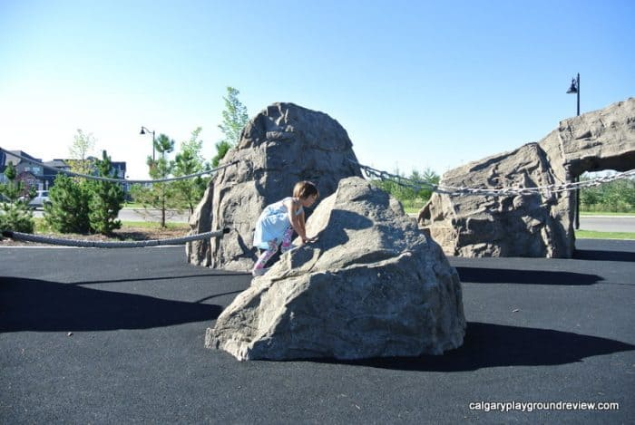 Mahogany Giant Rock Playground