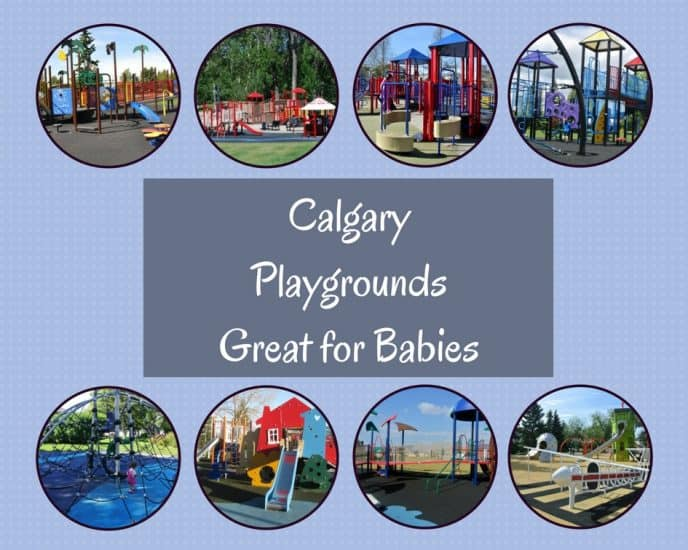 Playgrounds Great for Babies (who aren't yet walking)