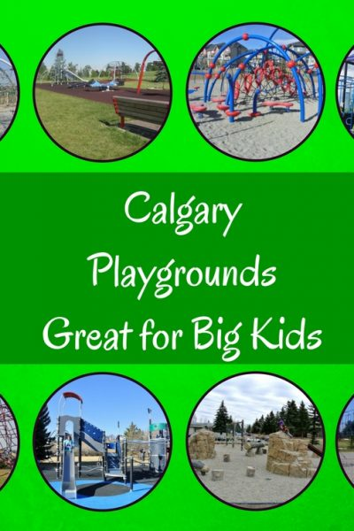 Calgary playgrounds that are great for big kids