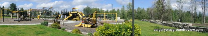 Marnevic Memorial Park Heavy Construction Equipment Playground - Fox Creek, AB