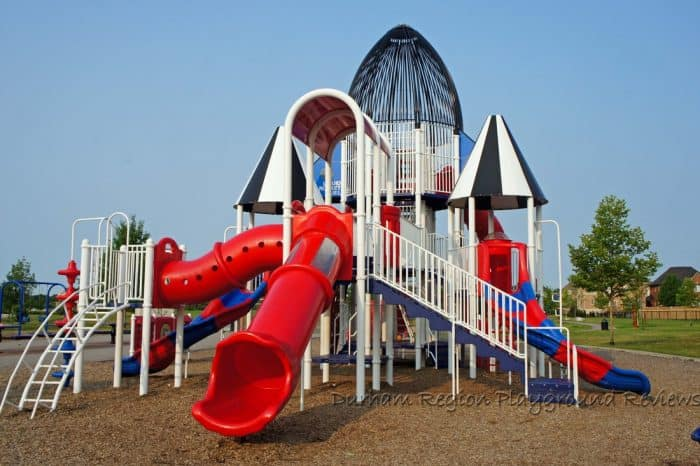 Baycliffe park rocketship playground