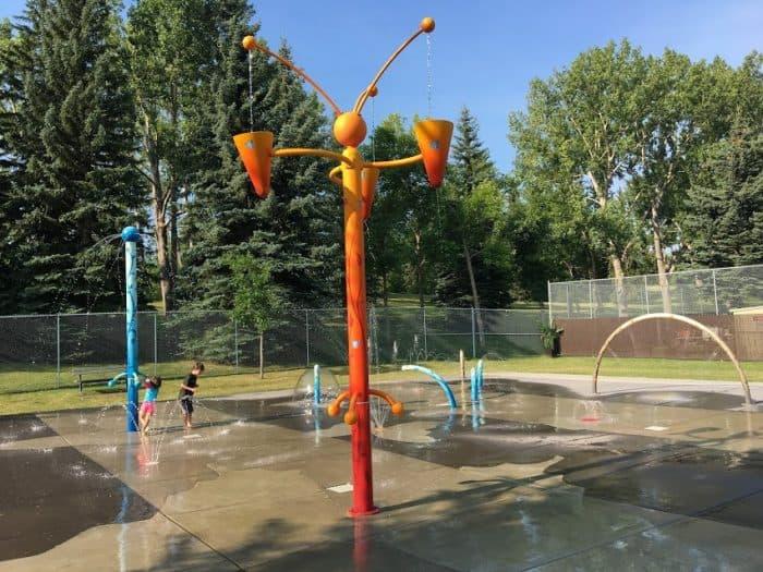 Canmore Park Spray Park