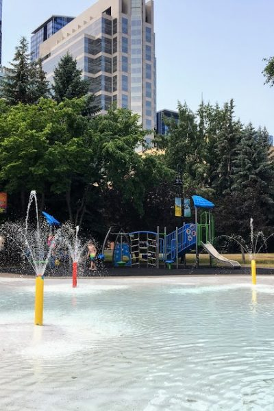 Prince's Island Park Playground – Eau Claire Wading Pool