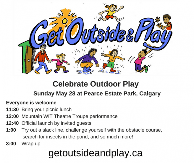 Get Outside and Play Week, May 27 – June 3