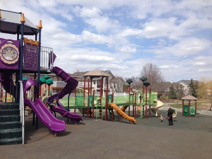 Regina Playground Sandra