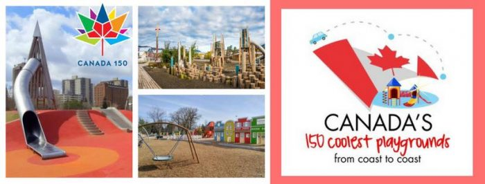 Canada's 150 coolest playgrounds from coast to coast banner