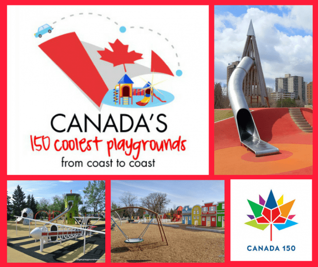 Canada's 150 coolest playgrounds from coast to coast