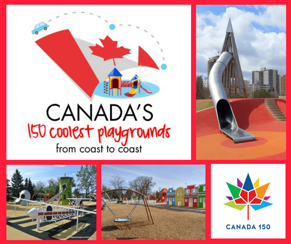 Canada's 150 coolest playgrounds