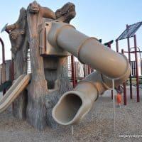 Meadowview Dinosaur Playground, Leduc, AB