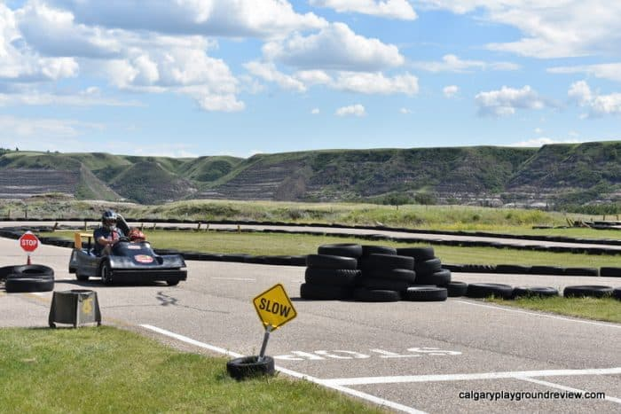Go carts - Cactus Coulee Fun Park - Drumheller With Kids