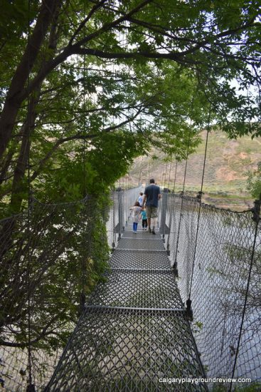 Rosedale Suspension Bridge