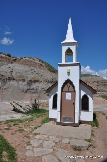 The Little Church - Drumheller